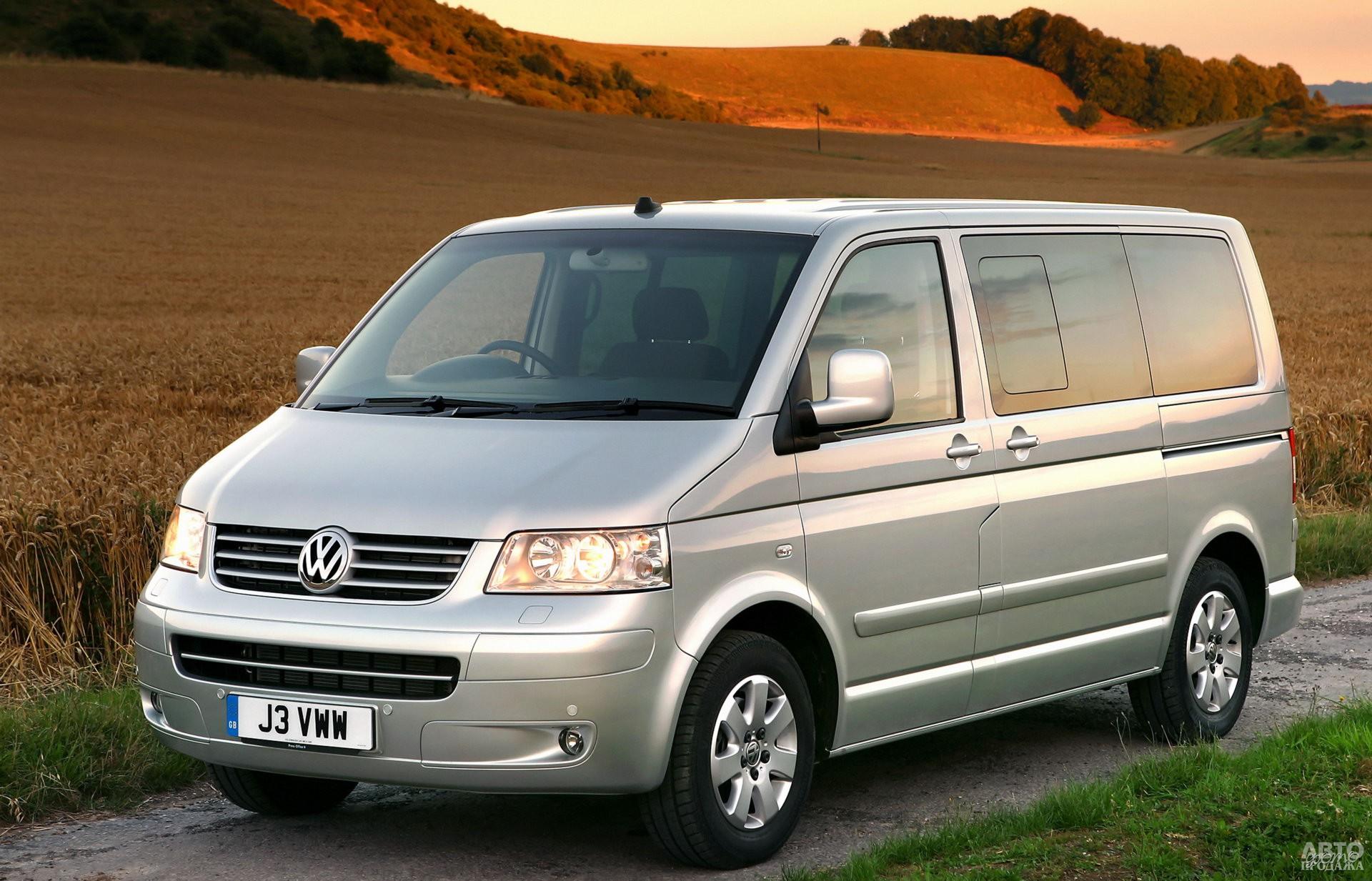 Volkswagen T5 2003 года