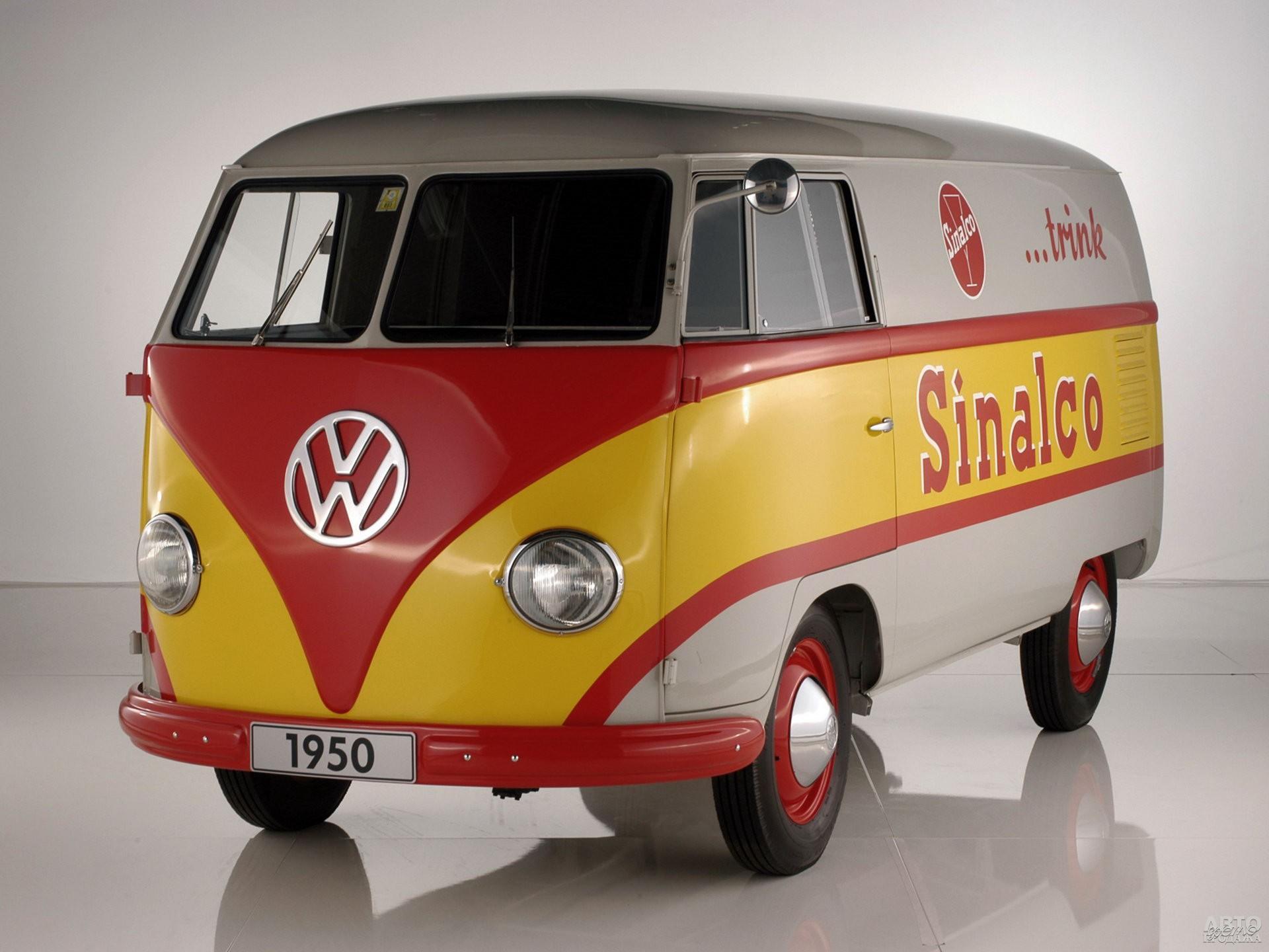 Коммерческий фургон Volkswagen T1 1950 года