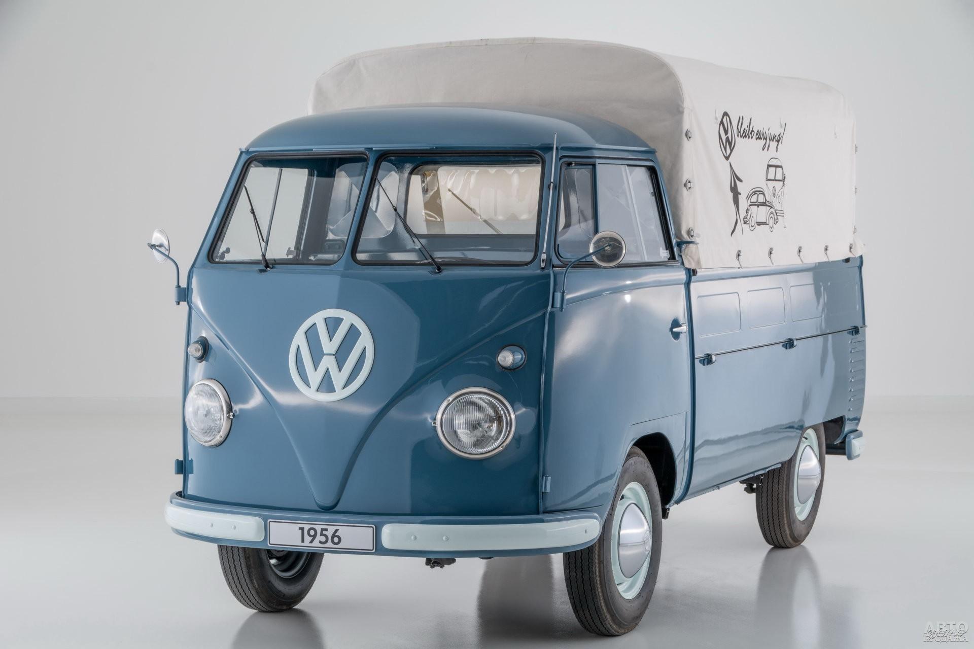Пикап Т1 появился в 1952 году