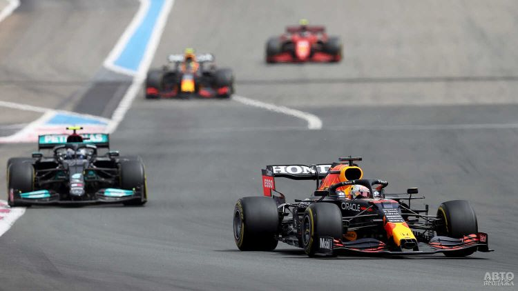 Формула-1: Ферстаппен триумфует во Франции