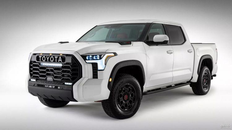 Первые фото Toyota Tundra нового поколения