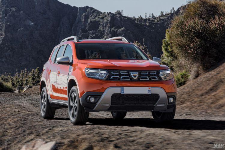 Dacia Duster: обновление