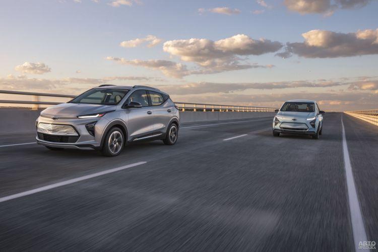 Chevrolet Bolt EUV: электромобиль в популярном формате