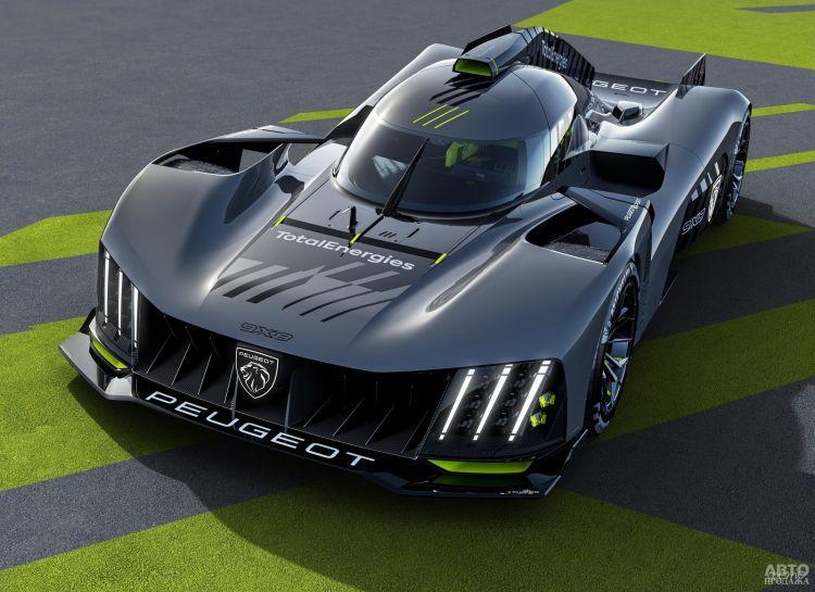 Peugeot представили сверхмощное гибридное купе