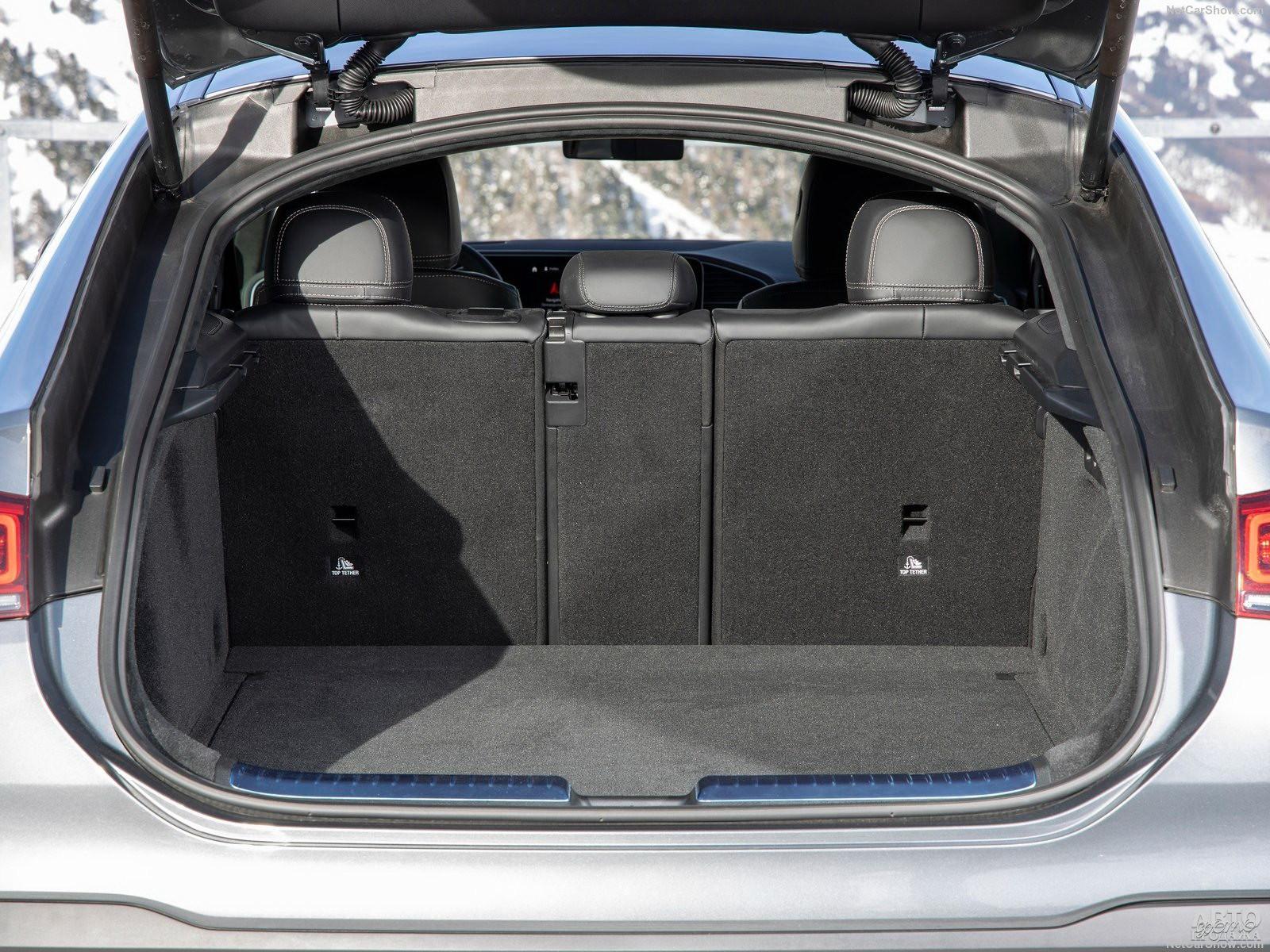 Самый вместительный багажник у Mеrcedes-Benz – 655 л