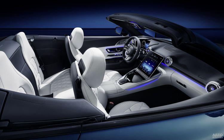 Первые фото нового Mercedes-AMG SL