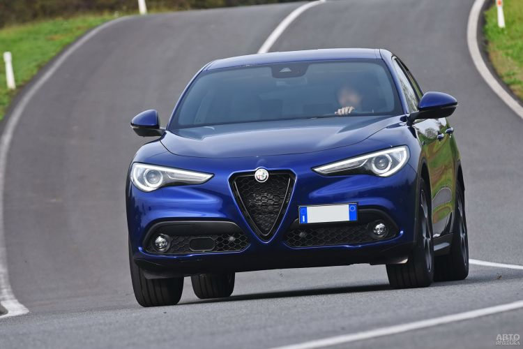 Alfa Romeo Stelvio, Infiniti QX50 и Jaguar F-Pace: вседорожный премиум
