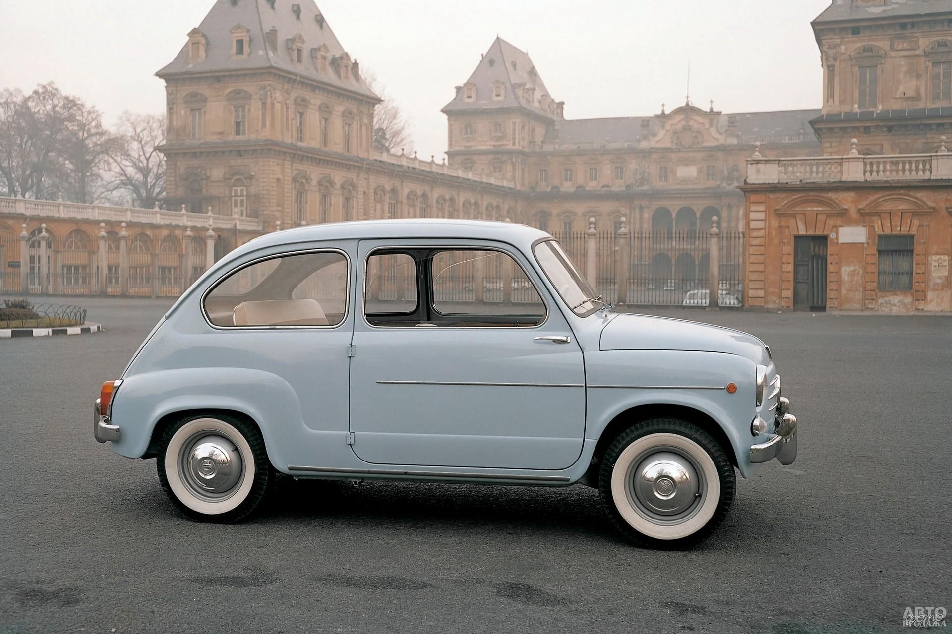Обновленный Fiat 600 D 1960 года