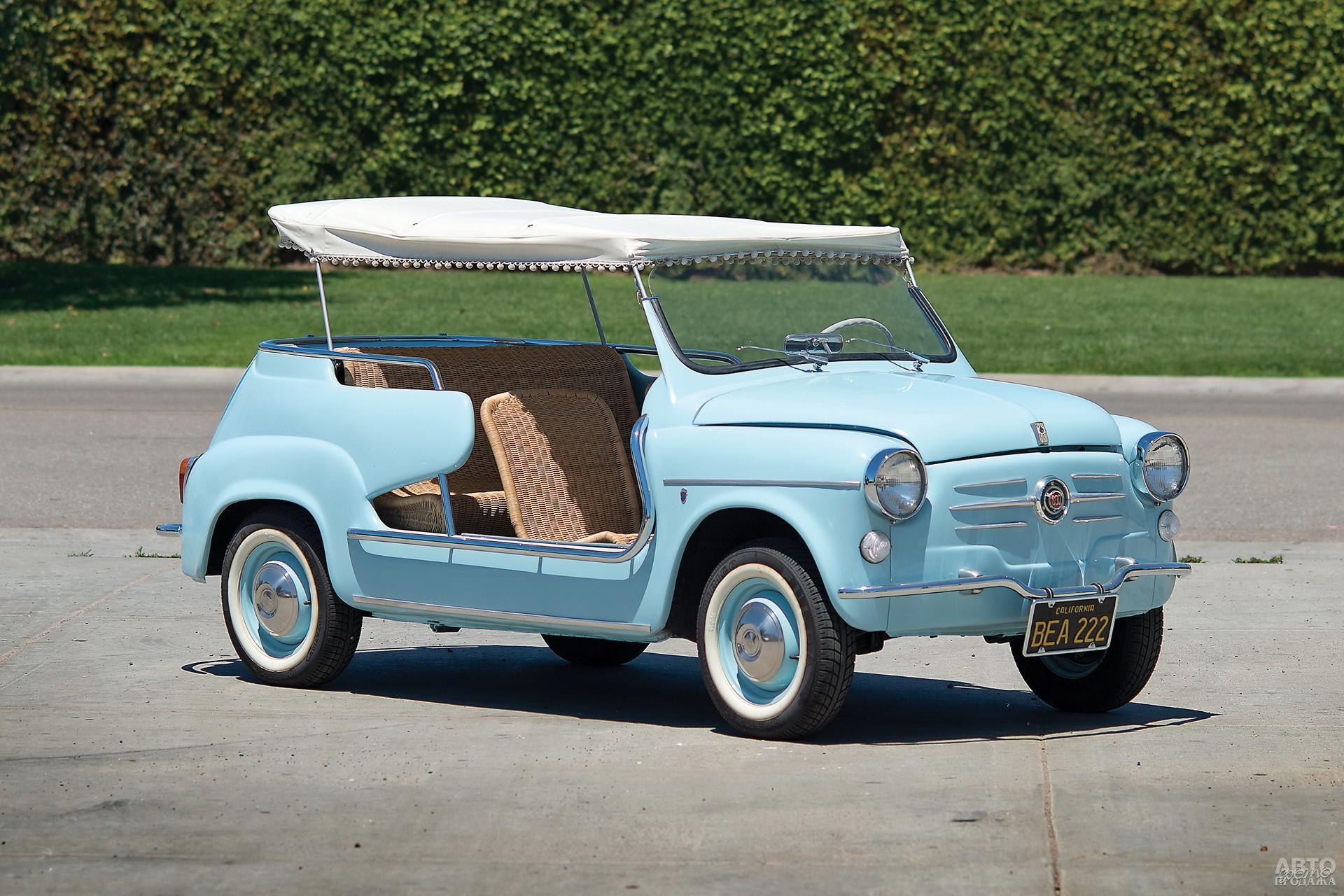 Пляжный Fiat 600 Jolly, 1958 год