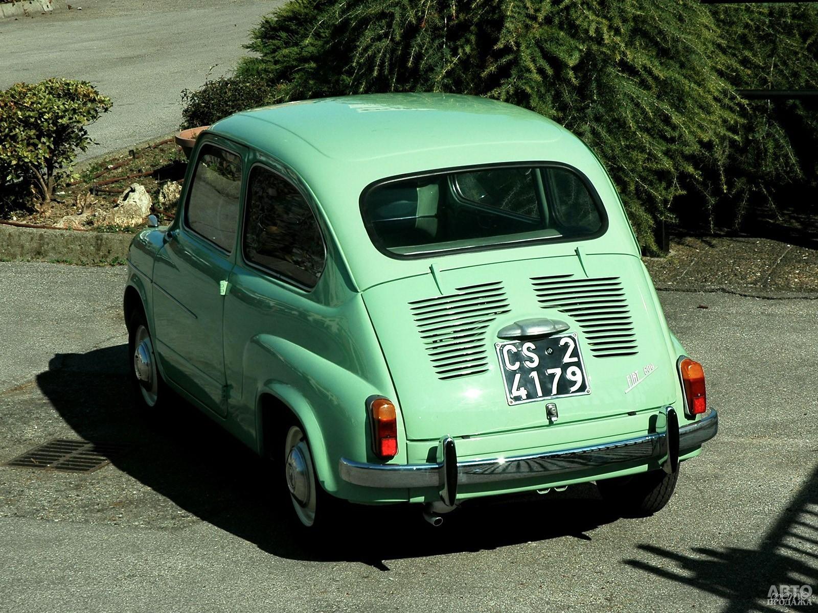 Всего выпустили около 5 млн. Fiat 600