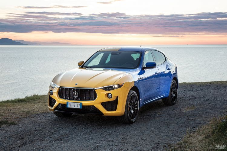 Maserati Levante получил «украинскую» версию