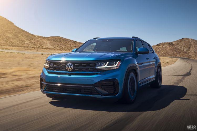 Volkswagen Atlas Cross Sport GT Concept: инъекция спортивности