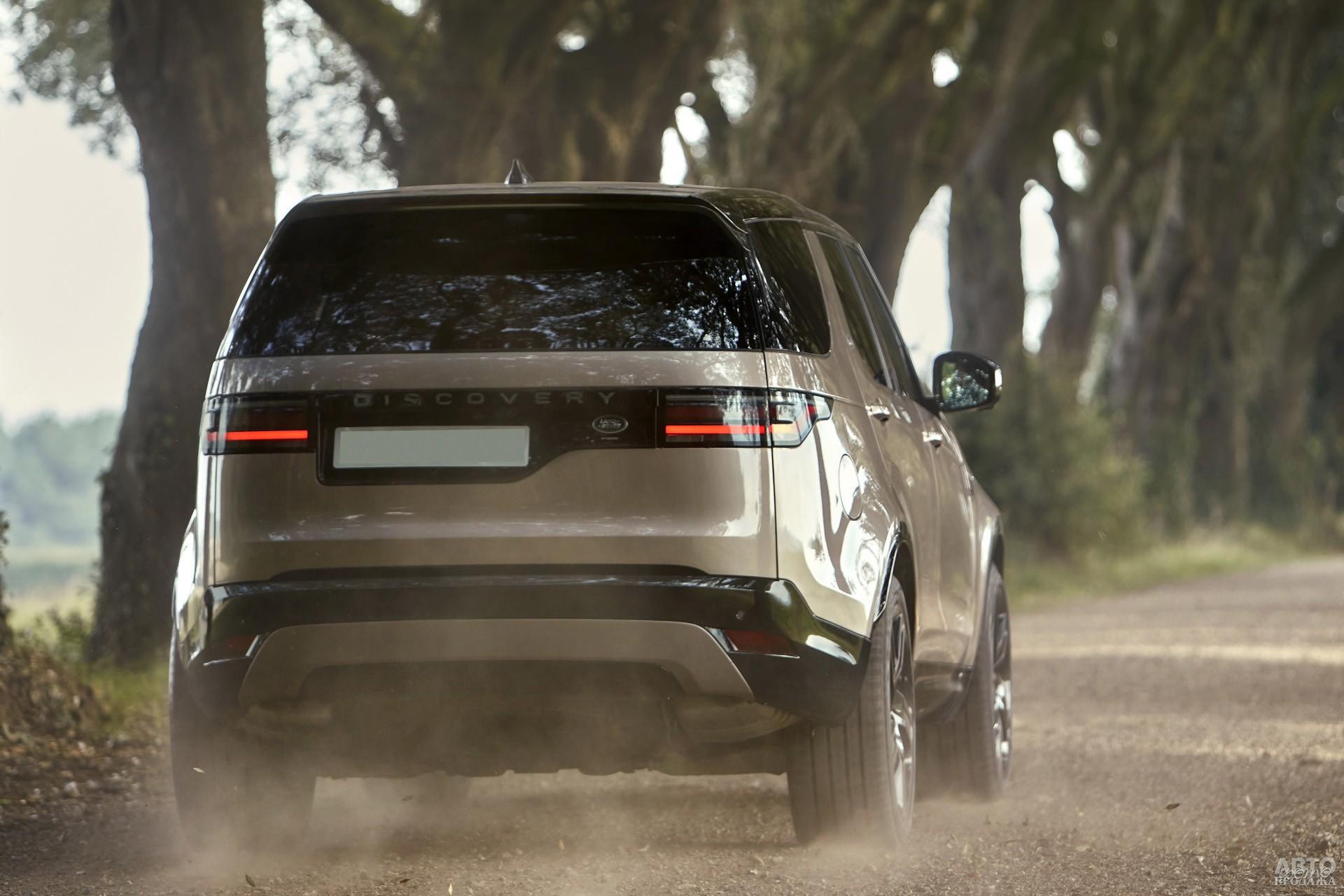 Ассиметричная пятая дверь – фирменная черта Lаnd Rover