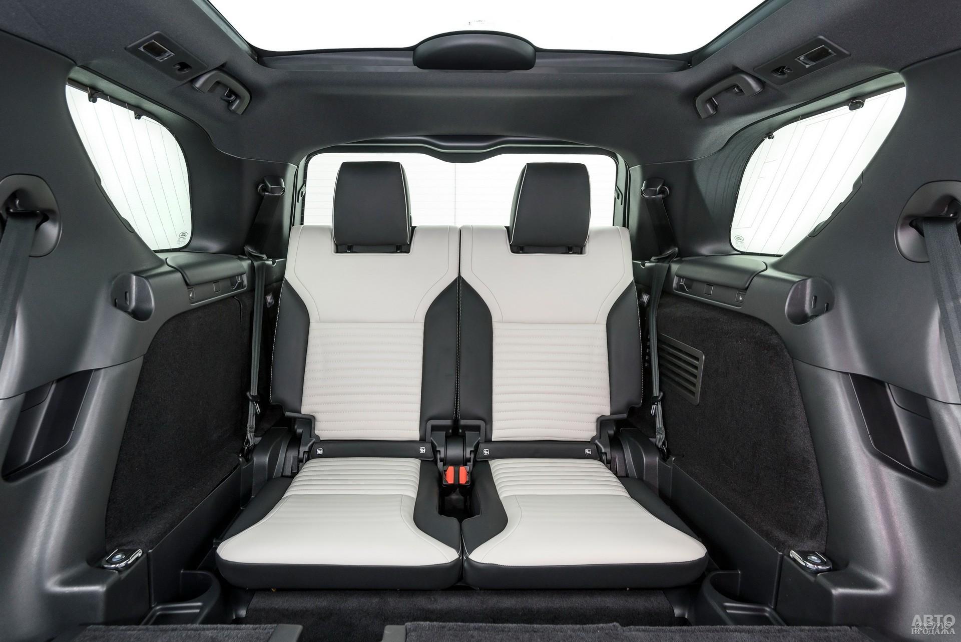 Преимущество Lаnd Rover – третий ряд сидений