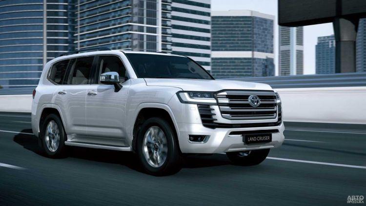 В Украине стартуют продажи нового Toyota Land Cruiser