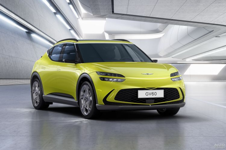Genesis GV60: стильный электромобиль