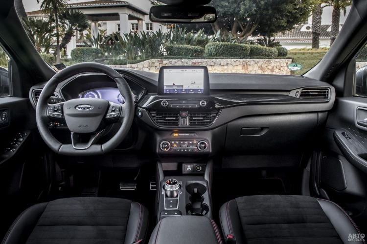 Вместо рычага трансмиссии у Ford – круглый селектор