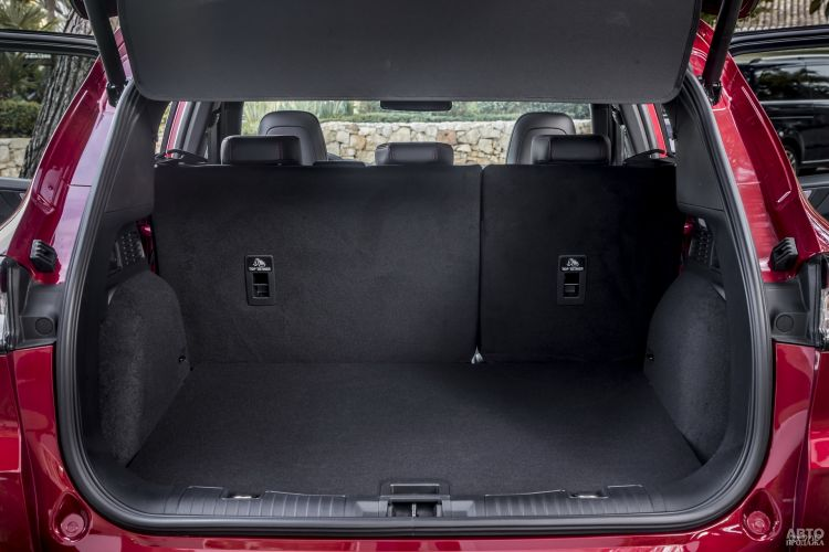 Объем багажника Ford – 556 л