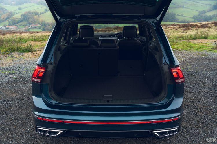 Багажник Volkswagen самый большой – 615 л