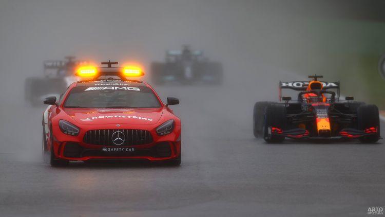 Формула-1: Гран-при Бельгии стал самым коротким в истории