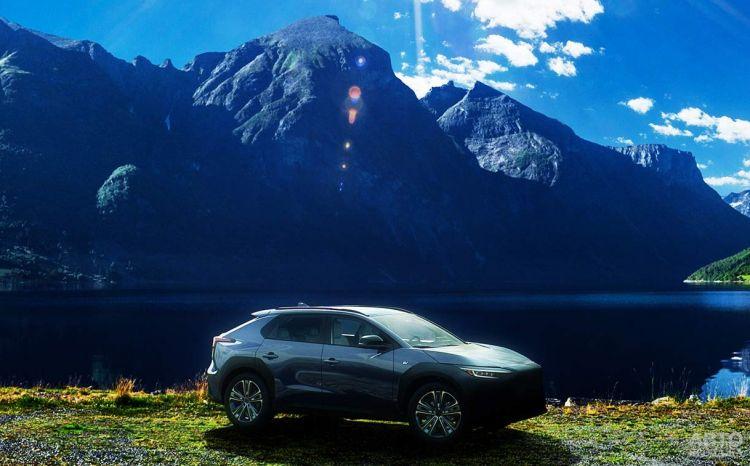 Рассекречен первый электромобиль Subaru