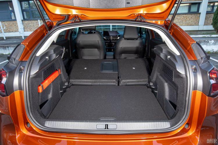 Объем багажника Citroen – 380 л