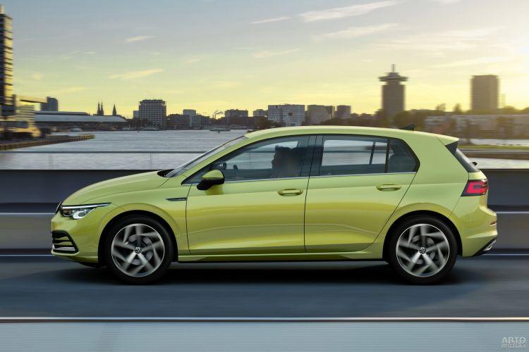 Volkswagen самый компактный – 4284 мм