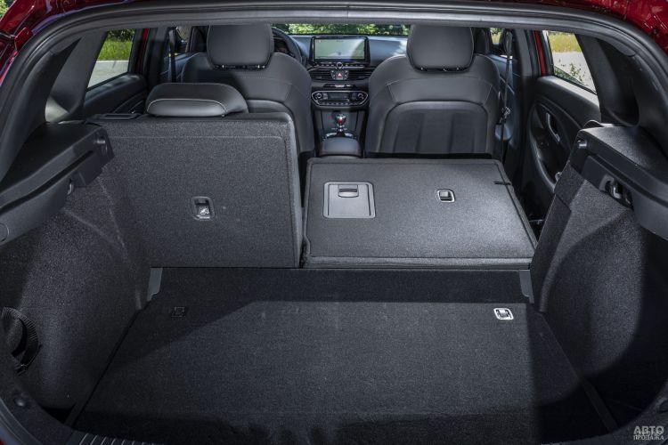 Багажник Hyundai самый вместительный – 395 л
