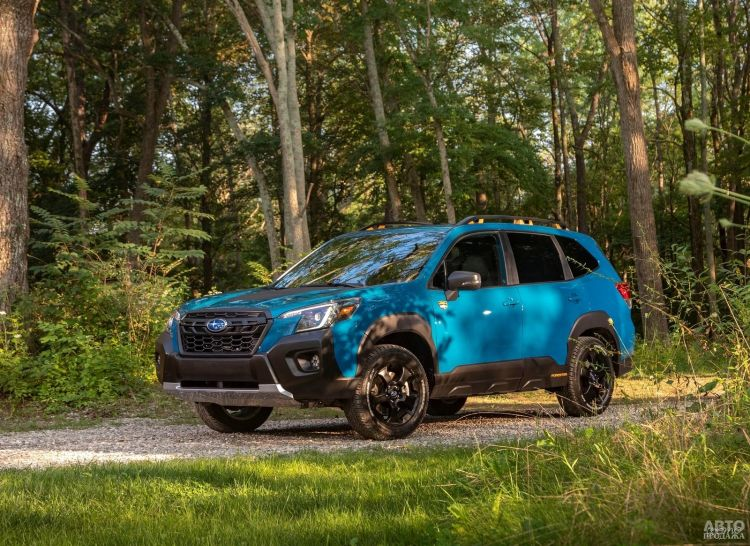 Subaru Forester получил версию повышенной проходимости