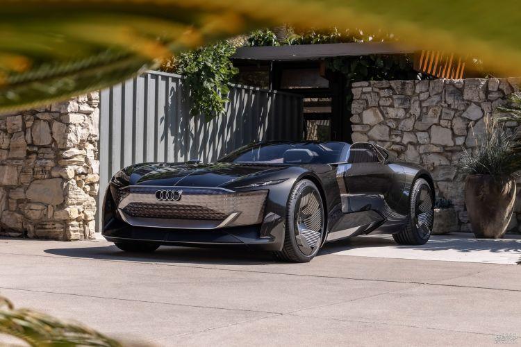Audi Skysphere: дань классике