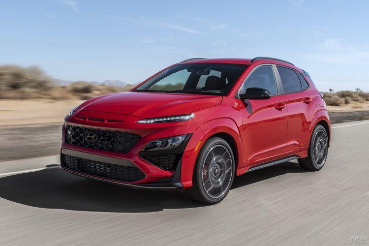 Hyundai Kona N: альтернатива заряженному хетчбэку