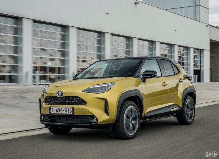 В Украине стартуют продажи нового Toyota Yaris Cross