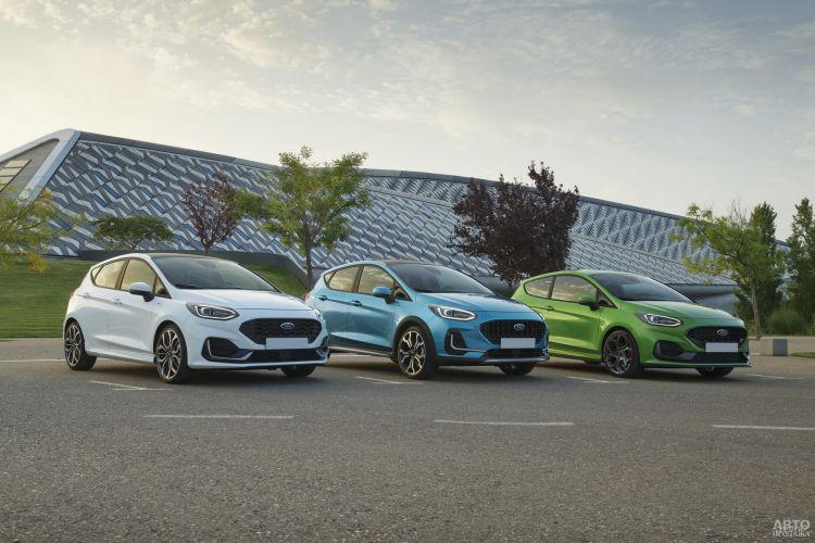Ford Fiesta: обновление