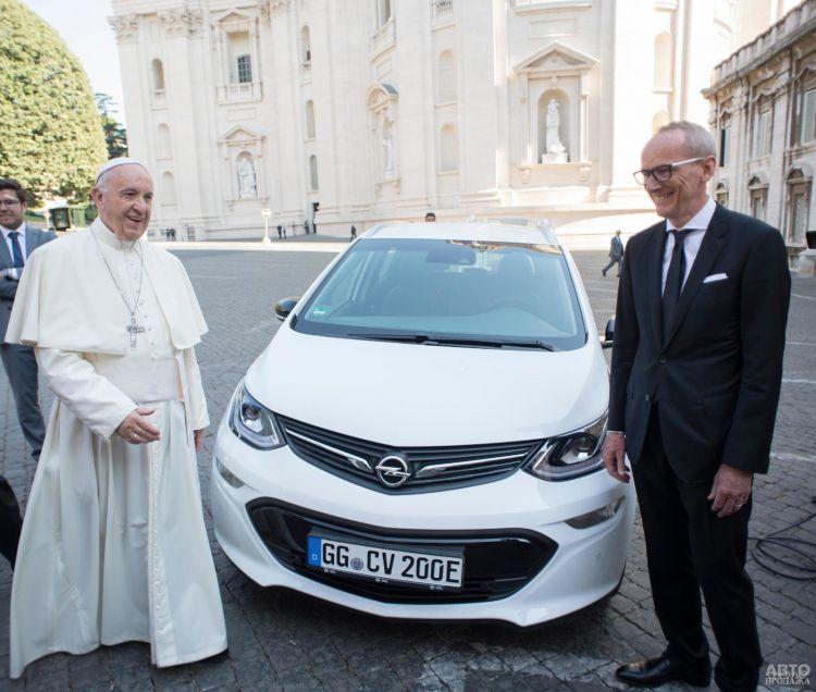 Электромобиль Opel e-Ampera