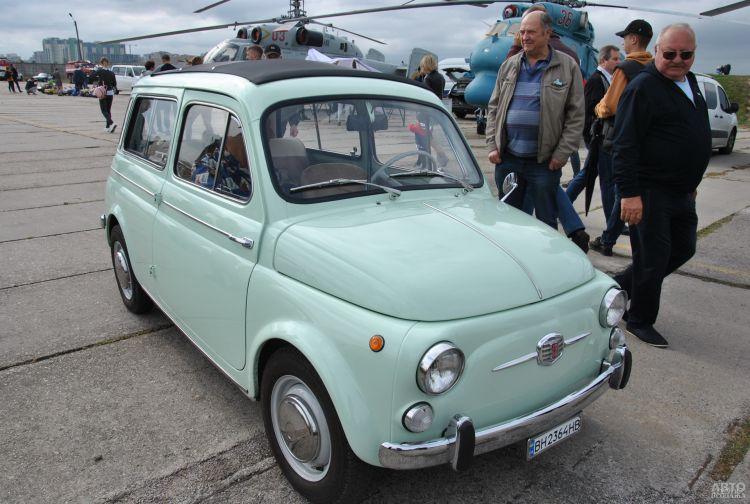 Миниатюрный Fiat 500 Giardiniera