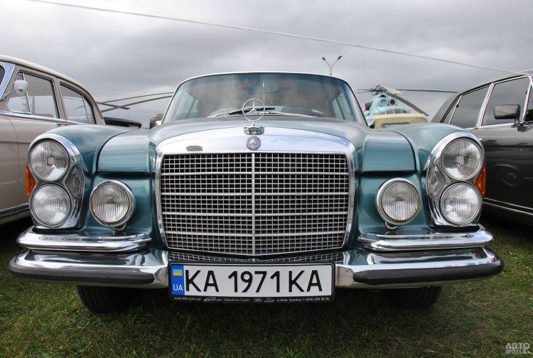 Mercedes-Benz 280SE Coupe 1971 года