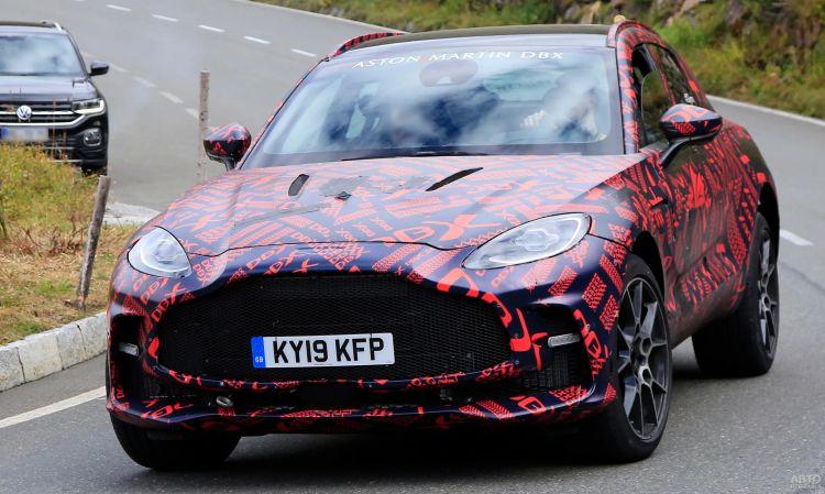 Aston Martin готовит сверхмощный вседорожник