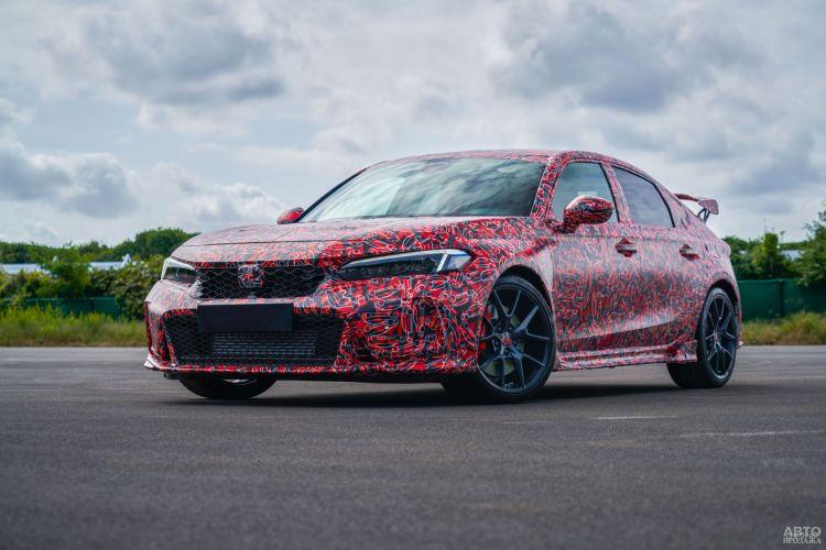 Новый Honda Civic Type R показали на первых фото