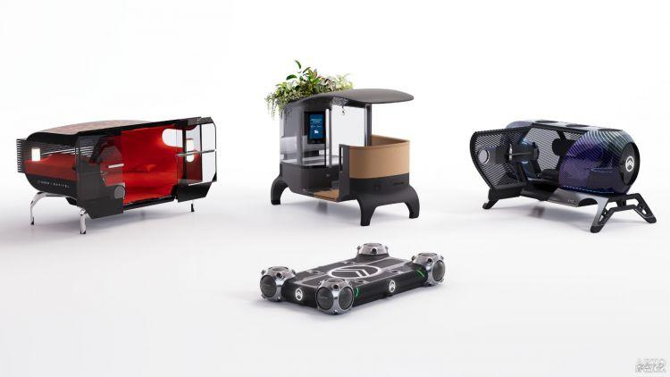 Citroen представили беспилотный автомобиль для города