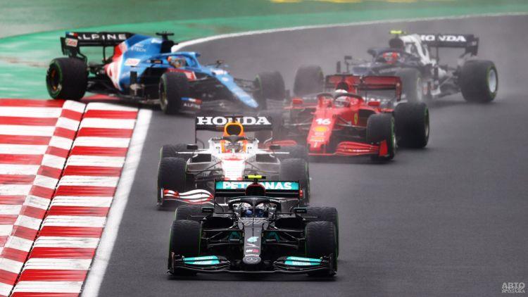 Формула-1: Боттас триумфует в Турции