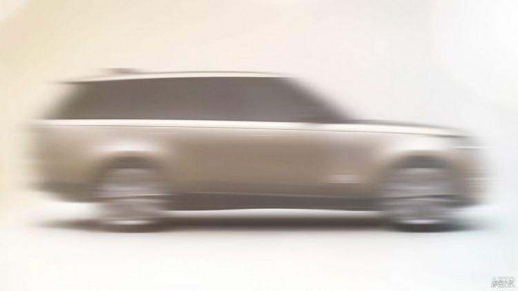 Первые изображения нового Range Rover