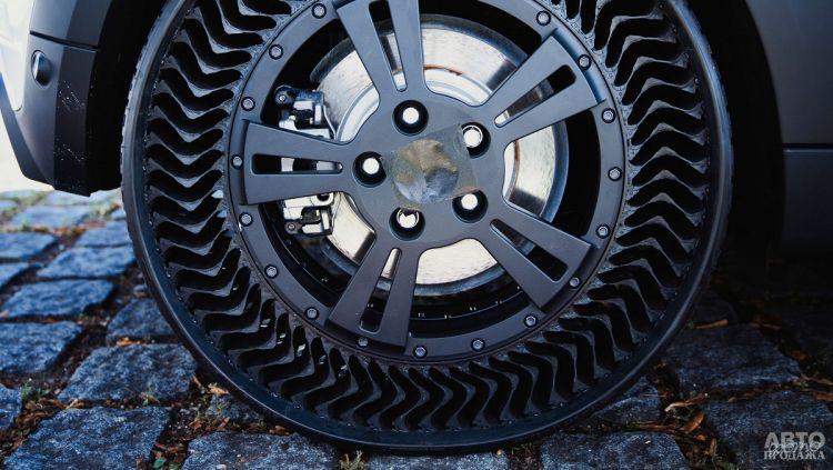 Michelin запускает в производство безвоздушные шины