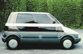 Alfa Romeo Capsula 1982 года поставил под сомнение традиционные устои классического автомобиля, прежде всего его компоновку и форму