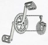 Первые механизмы переключения передач на автомобилях выглядели точно так же, как и те, которые сегодня используются на велосипедах: набор шестерен и цепь