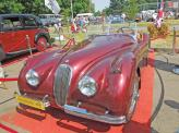 Jaguar XK120 1948 года - звезда нынешнего фестиваля