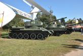 Экспозиция танков