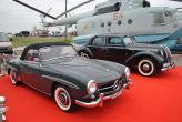Mercedes-Benz 190 SL и Opel Admiral