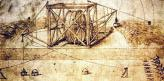 Машина Леонардо да Винчи – первый образец землеройной техники с воротом, тросом, стрелой и ковшом, которая работала на строительстве каналов