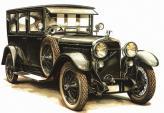 Первый легковой автомобиль Skoda был точной копией аристократичной Hispano-Suiza (1925 год)