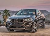 Передний бампер BMW X6 выполнен Х-образным